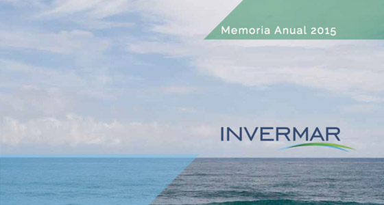 Memoria-anual-2015 Invermar, Producer and exporter of Pacific and Atlantic salmon Chile